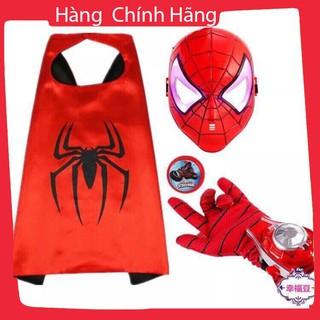 Bộ sét 3 món siêu nhân nhện cho bé_Hàng tốt