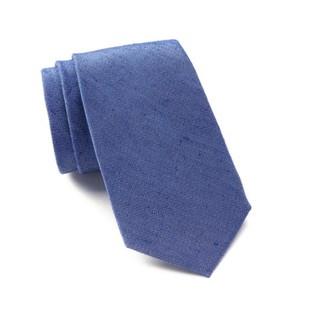 Cà vạt Ben Sherman chất liệu lụa và cô-tông dệt, màu xanh dương nhạt