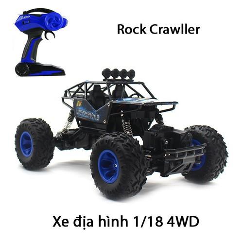 Xe địa hình leo đá rock crawler 1-18 4wd 6255