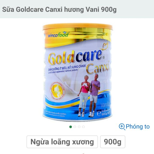 Sữa bột Goldcare Canxi hộp 900g - 22942010 , 1018541275 , 322_1018541275 , 285000 , Sua-bot-Goldcare-Canxi-hop-900g-322_1018541275 , shopee.vn , Sữa bột Goldcare Canxi hộp 900g