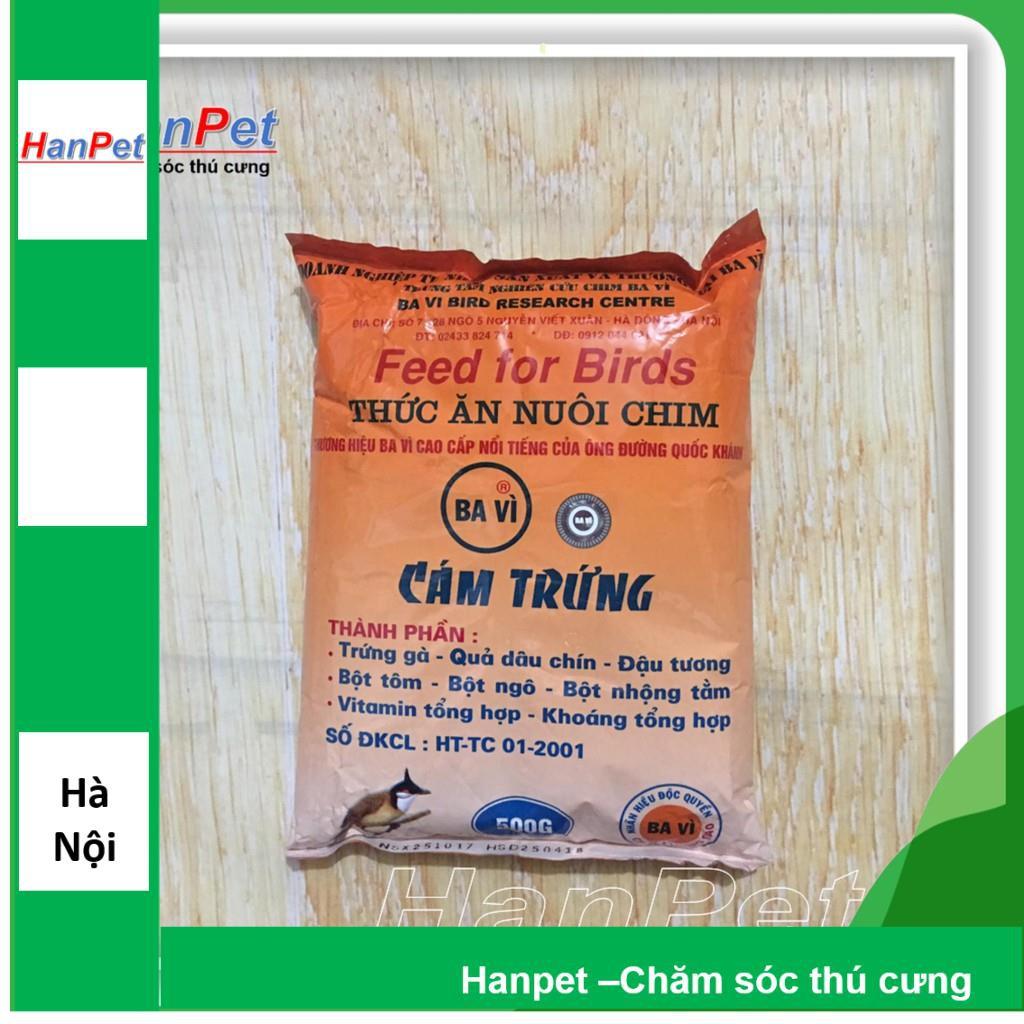 Thức ăn cho chim(Cám trứng BAVI - 500gr) (hanpet 214)