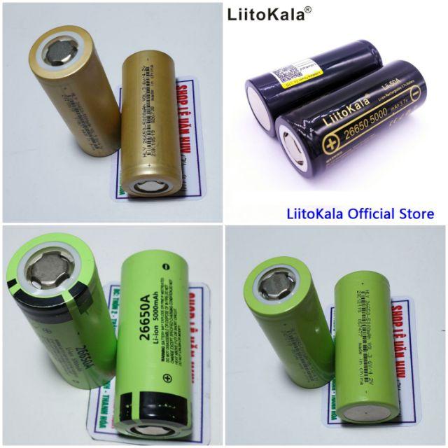 Pin litokala & 26650 - 5000mah