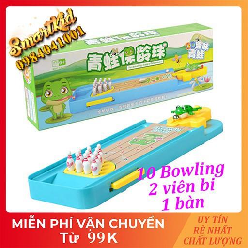 BÁN SỈ BUÔN_Đồ Chơi Mô Hình Bowling Ếch Cho Bé Loại Xịn_Đồ Chơi Thông Minh