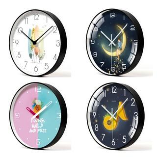 Đồng hồ treo tường kim trôi loại 30cm ( BẢO HÀNH 1 ĐỔI 1 TRONG 15 NGÀY)