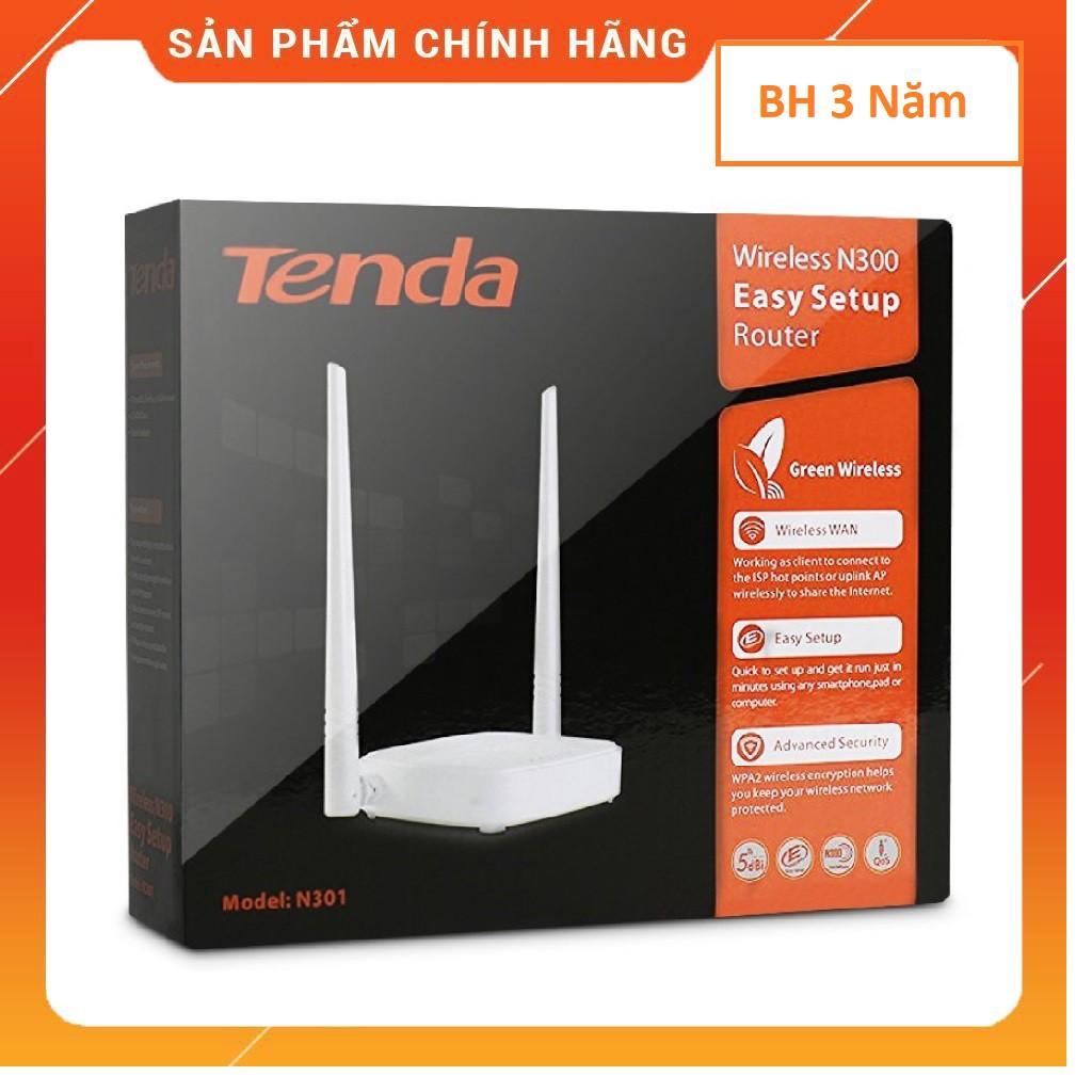 Bộ phát wifi Tenda N301 2 Râu , Totolink N350RT AC5 - Hàng Chính Hãng