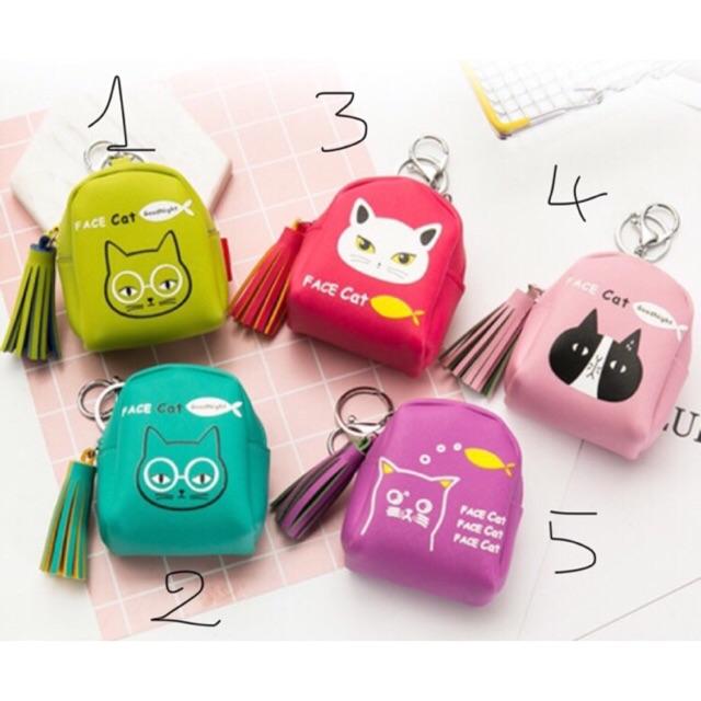 [ SO CUTE] Túi mini đựng tiền lẻ-treo túi xách-móc chìa khoá đa năng