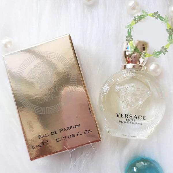 Nước hoa nữ Versace Eros Pour Femme 5ml
