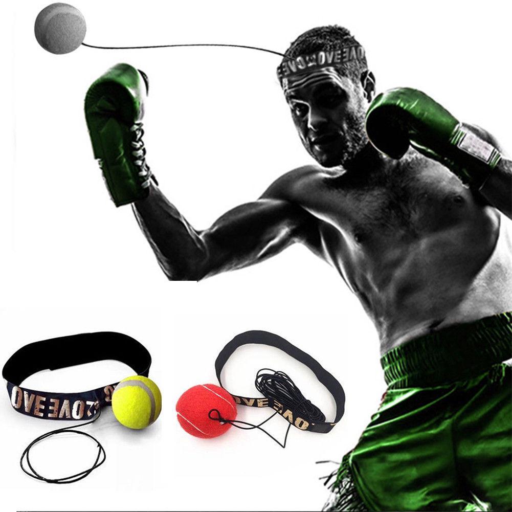 Bóng tập đấm phản xạ Boxing với dây buộc đầu thumbnail