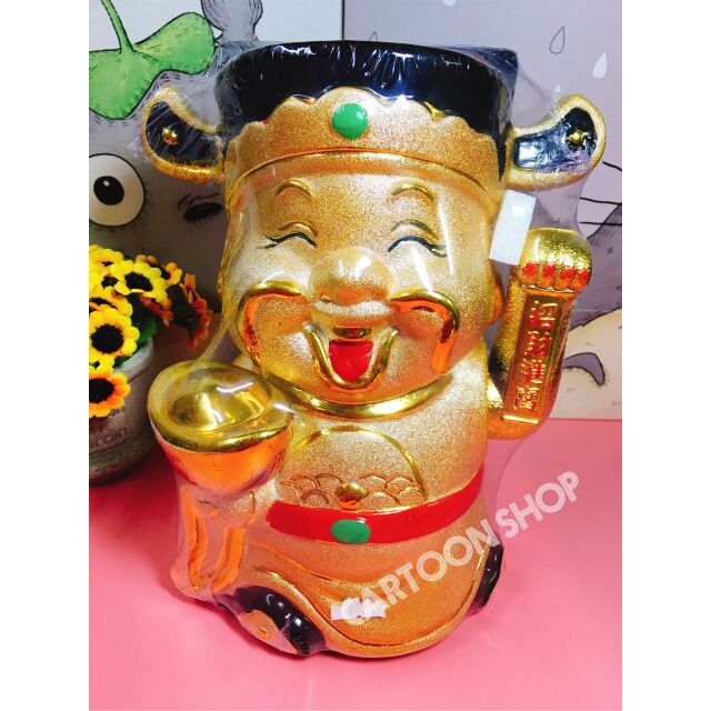 Thần tài / mèo may mắn vẫy tay vàng 25cm - 3240859 , 892700420 , 322_892700420 , 600000 , Than-tai--meo-may-man-vay-tay-vang-25cm-322_892700420 , shopee.vn , Thần tài / mèo may mắn vẫy tay vàng 25cm