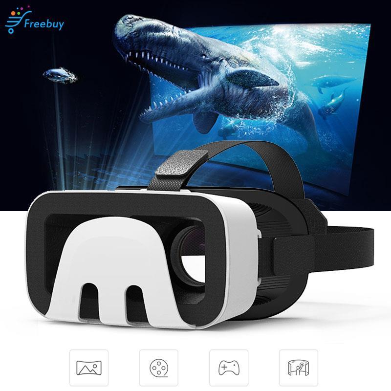 Universal Multifunctional VR Headset Glasses 3D VR Glasses Focus Adjustment Movies Head-Mounted