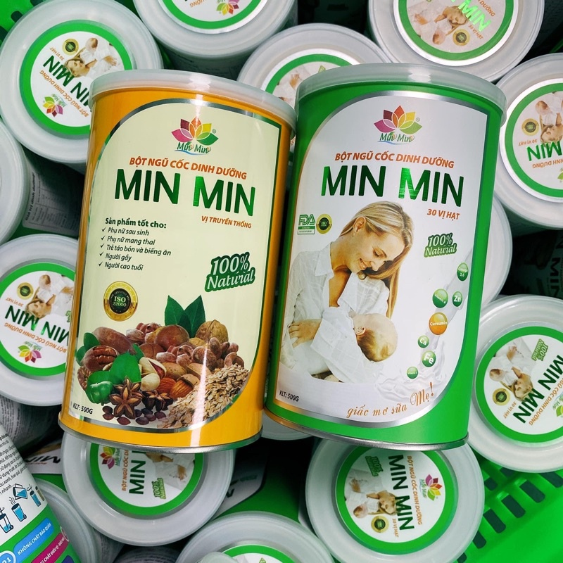 Ngũ cốc dinh dưỡng lợi sữa min min 1kg