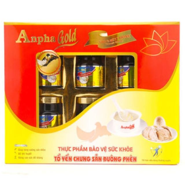 Tổ yến chưng sẵn 5% đường phèn Anpha Gold - 2522805 , 1231829227 , 322_1231829227 , 315000 , To-yen-chung-san-5Phan-Tram-duong-phen-Anpha-Gold-322_1231829227 , shopee.vn , Tổ yến chưng sẵn 5% đường phèn Anpha Gold