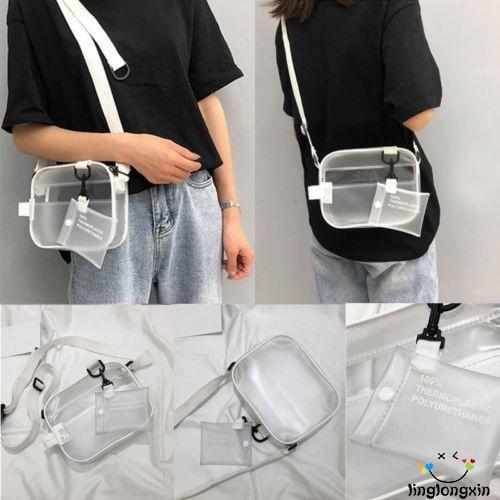 Túi đeo vai PVC trong suốt thời trang cho nữ