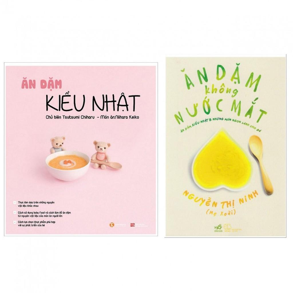 Sách - Combo 2 Cuốn Ăn Dặm Kiểu Nhật & Ăn Dặm Không Nước Mắt