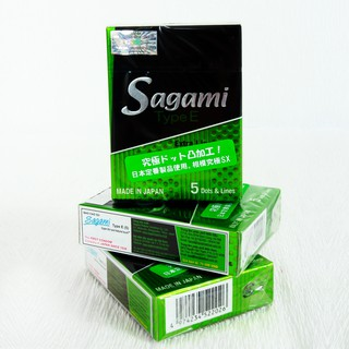 Bao cao su Sagami Type E hộp 5 chiếc thumbnail