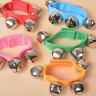 MUL❤ Lovely Cute Baby Toddler Rainbow Wrist Foot Bell Rattle Pram Crib Sh
