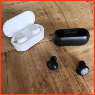 Tai nghe nhét tai không dây QCY T1 - QCY T2C công nghệ Bluetooth 5.0 (có dock tự sạc)