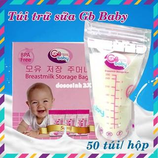 Hộp 50 túi trữ sữa GB Baby Hàn Quốc