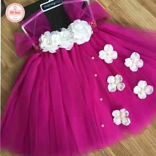 Váy bé gái ❤️FREESHIP❤️ Váy tutu cho bé gái tặng kèm băng đô hoặc bờm cài tóc cho bé gái