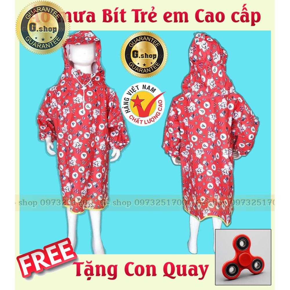 Combo : 10 áo mưa bit trẻ em