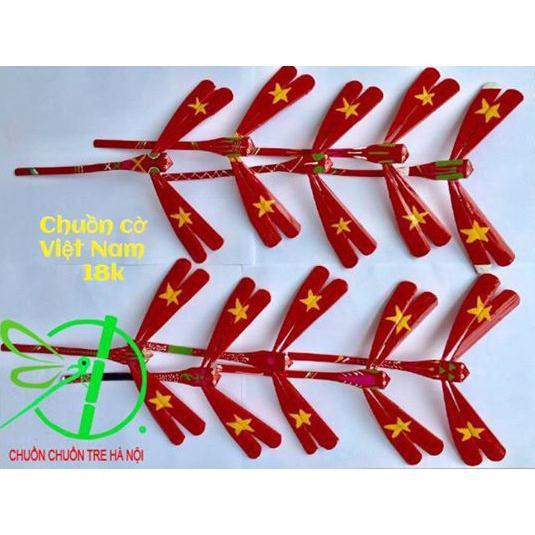 Vpp290: Chuồn chuồn tre hình là cờ việt nam