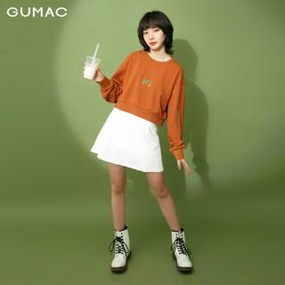 [Mã WAGM27 giảm 15% tối đa 50k đơn 150k] Áo thun croptop nữ tay dài GUMAC ATB313 thumbnail