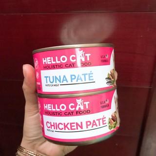 Pate Hello Cat cho mèo lon 190gr thumbnail