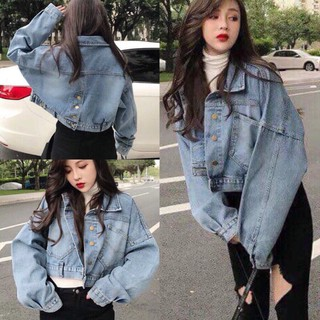 Áo Khoác Jeans nữ , Hàng Nhập khẩu Quảng Châu Cao Cấp