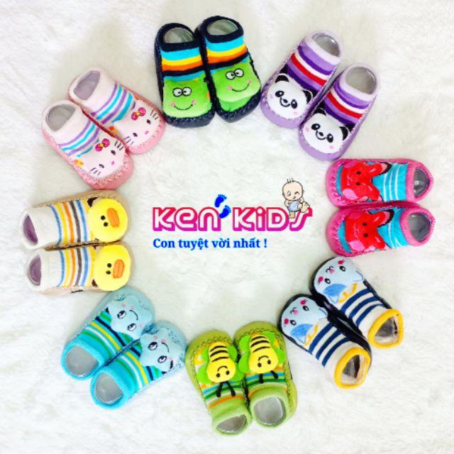 Giày tất/ Giày vớ tập đi chống trượt hình 3D cho bé - 3188598 , 1253100500 , 322_1253100500 , 45000 , Giay-tat-Giay-vo-tap-di-chong-truot-hinh-3D-cho-be-322_1253100500 , shopee.vn , Giày tất/ Giày vớ tập đi chống trượt hình 3D cho bé