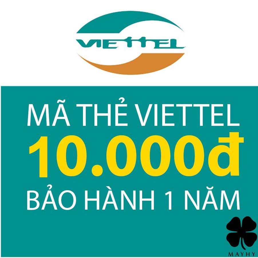 Mã Thẻ Điện Thoại Viettel 10.000