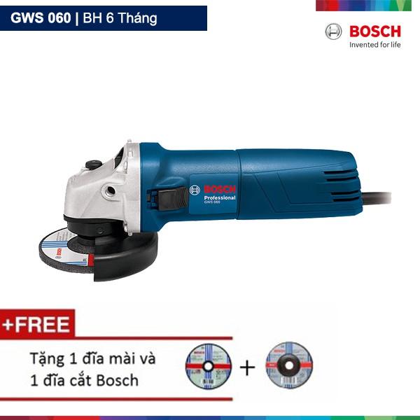 Máy mài góc Bosch GWS 060 Professional (Xanh) Tặng 1 đĩa mài và 1 đĩa cắt - 2650851 , 72771541 , 322_72771541 , 809000 , May-mai-goc-Bosch-GWS-060-Professional-Xanh-Tang-1-dia-mai-va-1-dia-cat-322_72771541 , shopee.vn , Máy mài góc Bosch GWS 060 Professional (Xanh) Tặng 1 đĩa mài và 1 đĩa cắt