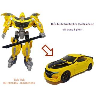 Biến hình Robot Bumblebee thành siêu xe