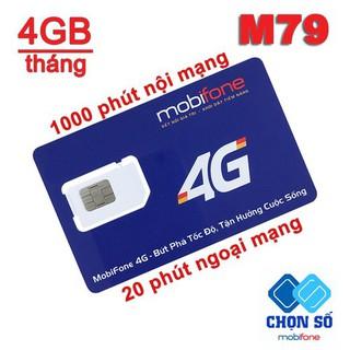 [HOT] Sim 4G MOBIFONE Vào Mạng Tốc Độ Cao 4GB/THÁNG