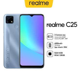 Điện thoại Realme C25 (4Gb/128Gb) – Hàng Chính hãng