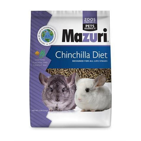 Mazuri มาซูริ อาหารชินชิล่า สูตรทิโมธี กล่ินหอมน่ากิน บำรุงขน ช่วยย่อย (1.13kg)