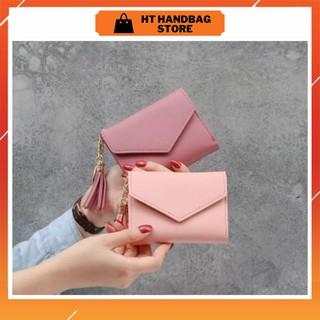 Ví nữ mini cao cấp nhiều ngăn siêu tiện lợi đựng tiền, đựng thẻ bỏ túi giá rẻ thumbnail