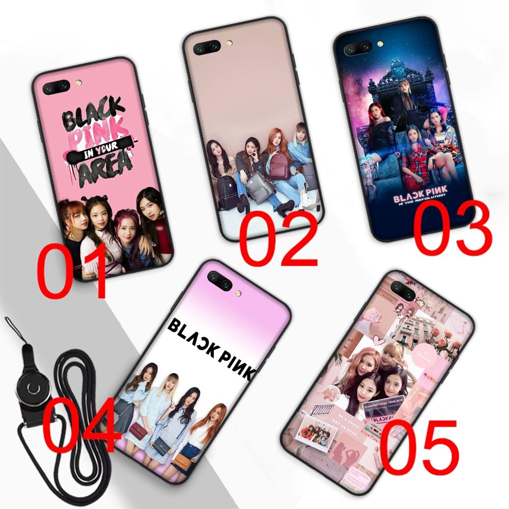 BlackPink K-POP Soft Case Huawei Honor 8 Lite 8X 7X 8C 7C 6A 7A Pro 3GB