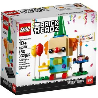 LEGO Brickheadz 40348 – Chú Hề Sinh Nhật (LEGO 40348 Birthday Clown)