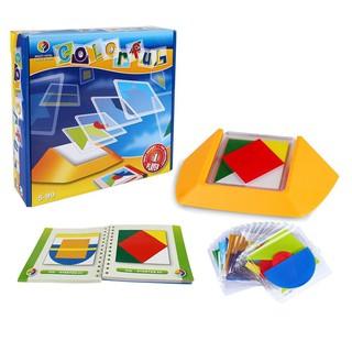 Đồ Chơi – Colorful – 100 Thách Thức Puzzle Game, Phát Triển Tư Duy Logic