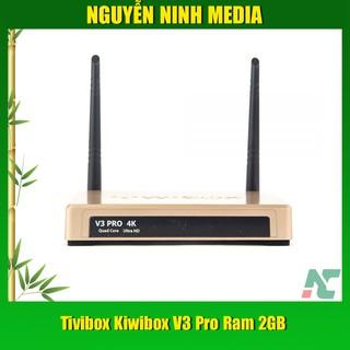 [Mã ELMSBC giảm 8% đơn 300k] Tivibox Kiwibox V3 Pro Ram 2GB Hàng chính hãng (Tặng chuột không dây Forter i210 )