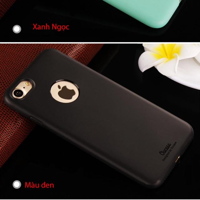 Ốp dẻo màu OU iphone 7