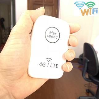 Cục Phát Wi Fi 4G Max Speed Bản Mỹ Phát Mạng cho xe ô tô khách cực mạnh pin dung lượng lớn dùng sim đa mạng