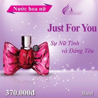Nước hoa nữ JUST FOR YOU 30ML