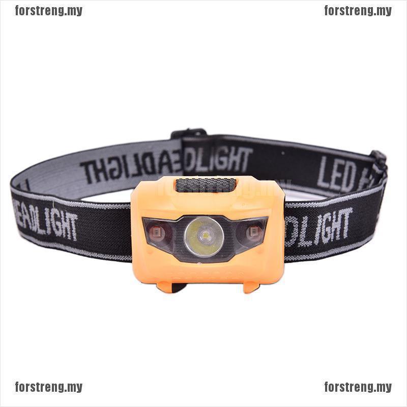 (hàng Mới Về) Đèn Pin Đội Đầu Cob Led 4 Chế Độ Chống Nước