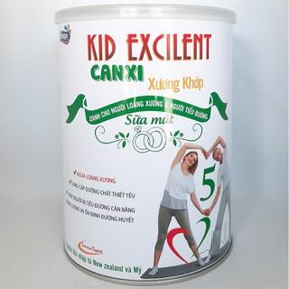 Sữa bột canxi xương khớp Kid Excilent cho người trung niên và cao tuổi lon 900g