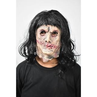 Mặt nạ Halloween sát nhân khâu mồm