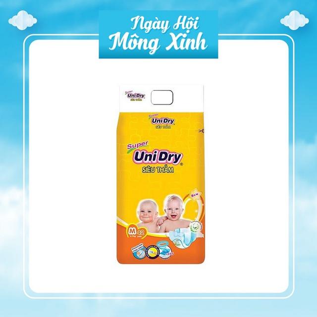 [Hà Nội] Tã Dán UniDry Super Bịch Đại Đủ Size S46/M42/L38