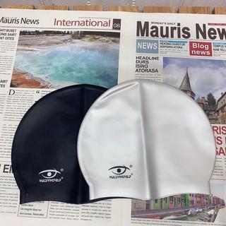 Thanh lý mũ bơi silicon chống nước cho người lớn nón bơi trùm tai 2P14 thumbnail
