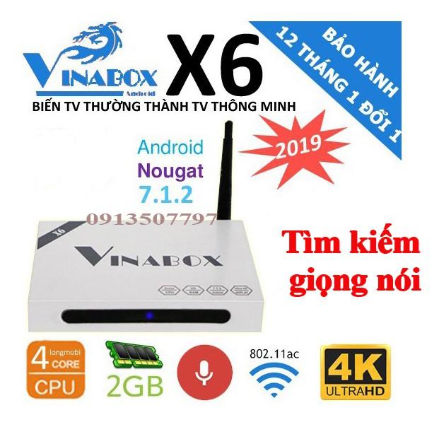 Vinabox X6 TV Box điều khiển bằng giọng nói