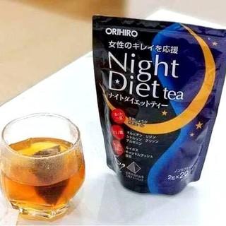 Trà Đêm Orihiro Night Diet Tea Nhật Bản dạng túi lọc 48g [Loại 24 gói] giảm  chỉ còn 169,000 đ